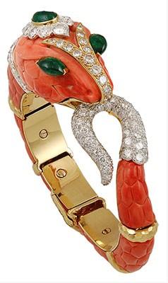 David Webb, gioielli, gioiello serpente, snake jewels, anno del serpente