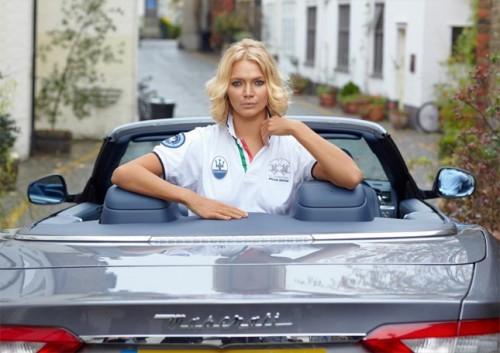 Jodie Kidd, Maserati, La Martina